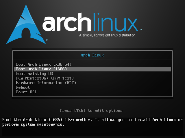 Install Pure Arch Linux