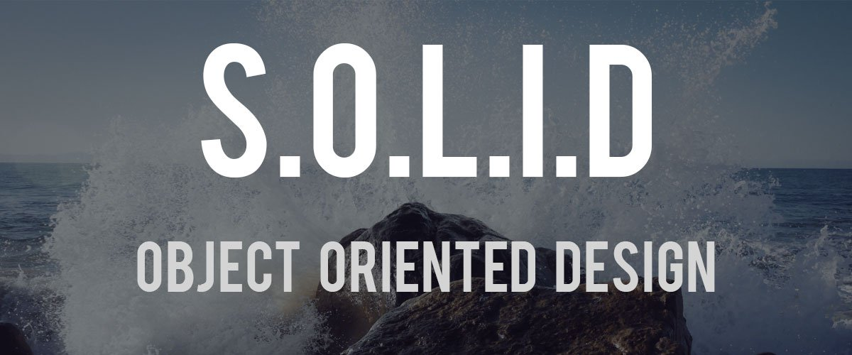 Object Oriented Designing වල හමු වන S.O.L.I.D. Principles