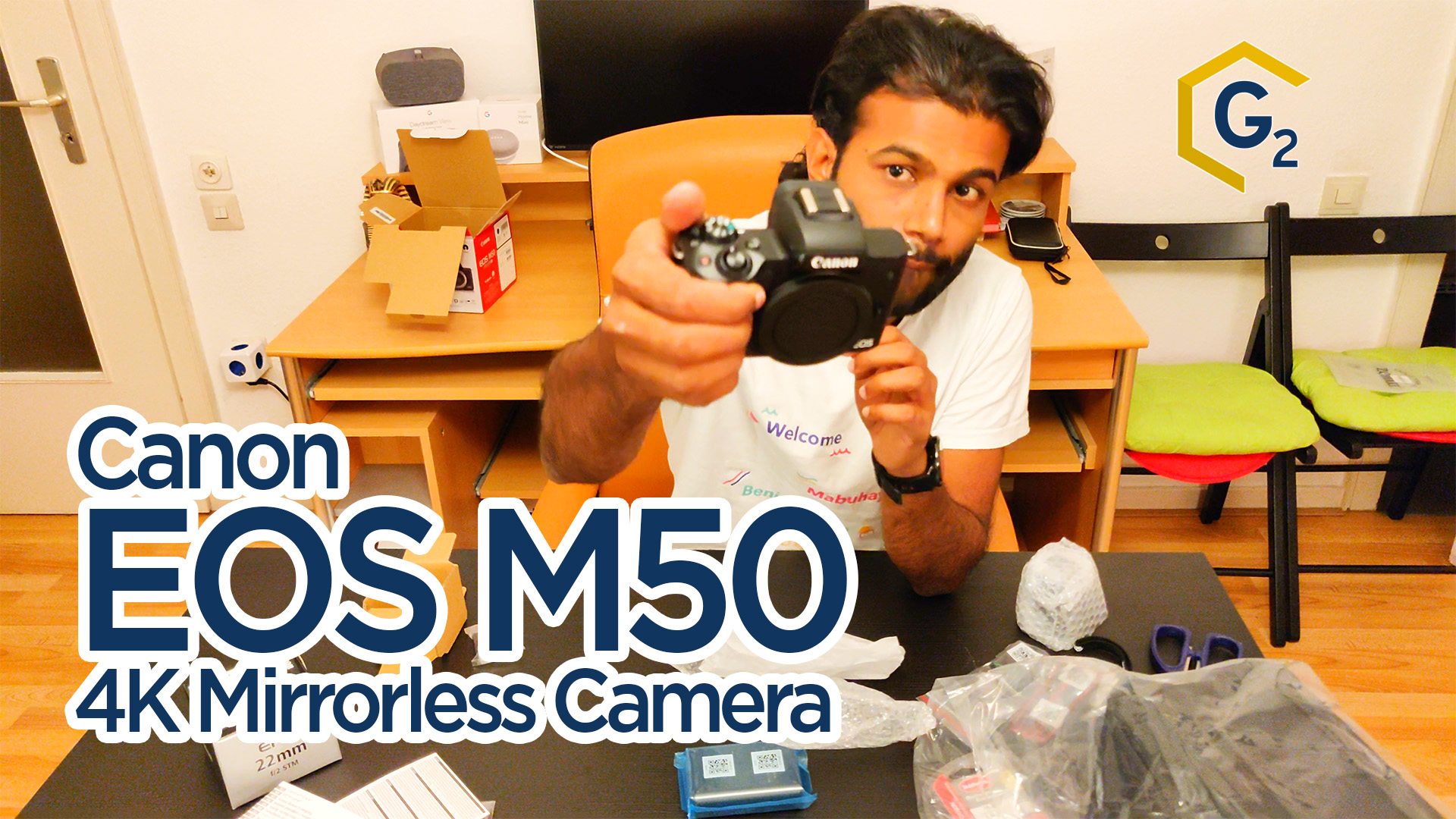 Canon M50 Unboxing